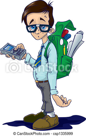 geek nerd stock illustration search vector clipart drawings and rh canstockphoto com clipart nerd girl clipart nerd glasses
