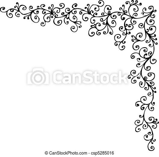 gefrorenes, barock, cccxiv, vignette - csp5285016
