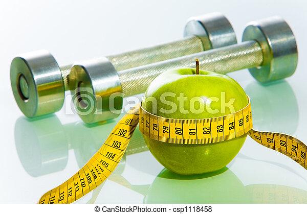 gegenstände, fitness - csp1118458