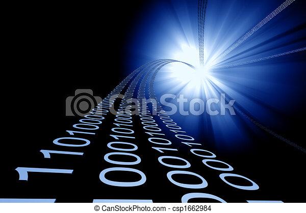 gegevensstroom, achtergrond - csp1662984