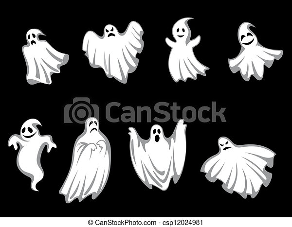 geheimnis, geister, halloween - csp12024981