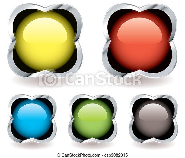 Gel mármol icon - csp3082015