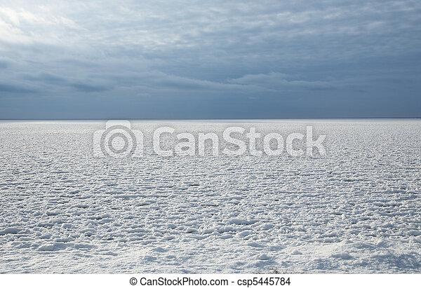 gelado, inverno - csp5445784