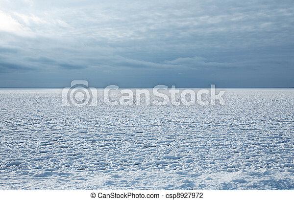 gelado, inverno - csp8927972