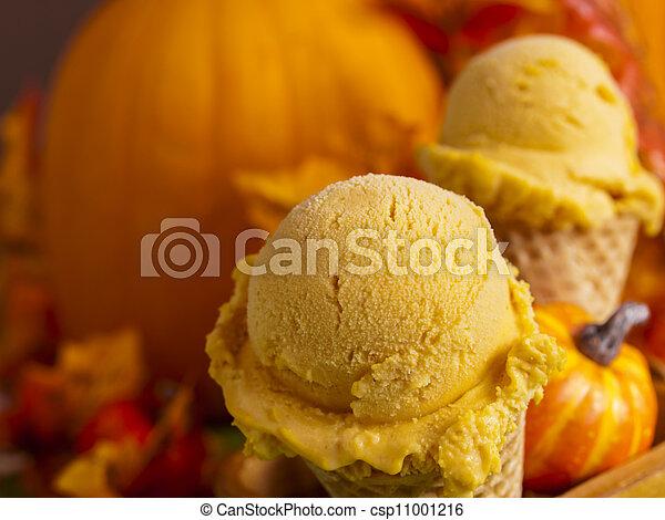 gelato, calabaza - csp11001216