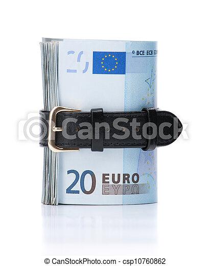 geld, aantrekken, concept, -, riem - csp10760862