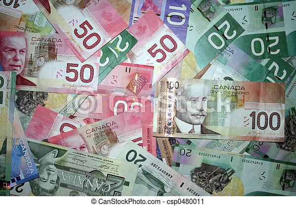 geld, bg, canadees - csp0480011