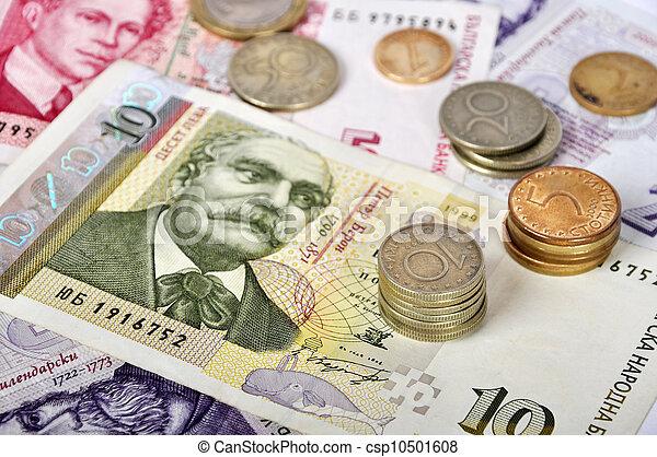 Geld Bulgarisch Ende Bulgarisch Seicht Dof Levs Geld