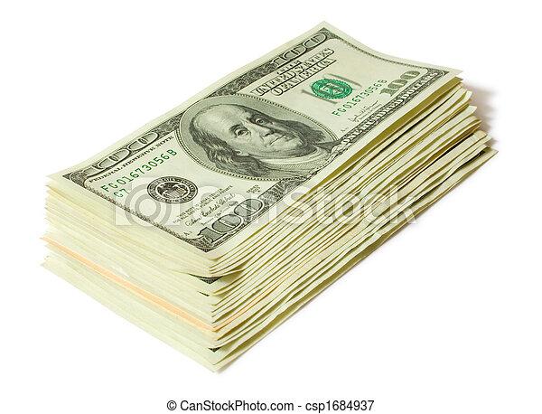 geld, concepts., financiën - csp1684937