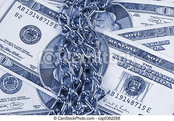 geld, kettingen - csp0362268
