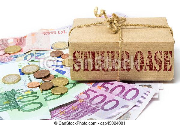 geld, steuer, hafen, schmuggeln - csp45024001