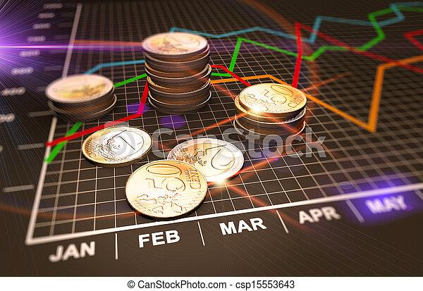 geld, tabellen - csp15553643