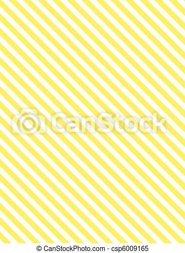 gele, diagonaal streep - csp6009165