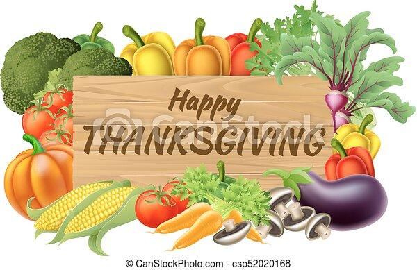 gemüse, früchte, erzeugen, erntedank, zeichen - csp52020168