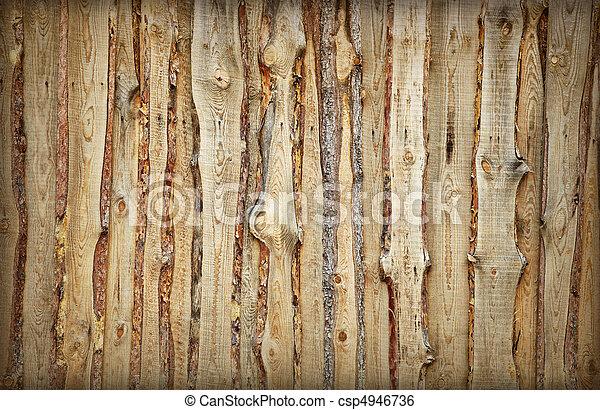 Gemacht Bretter Zaun Holzern Hintergrund Platten Gemacht