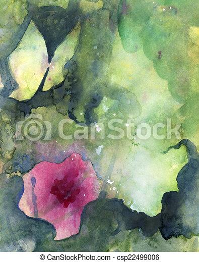 Abstract gemalte Hintergrundtextur - csp22499006