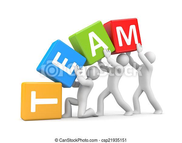 Teamwork - csp21935151