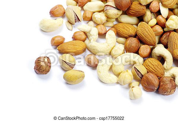 Gemischte Nüsse - csp17755022