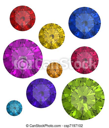 gemme, collezioni - csp7197102