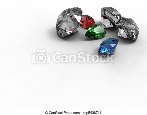 Gemstones - 01.jpg - csp5436711