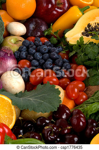 Obst und Gemüse - csp1776435