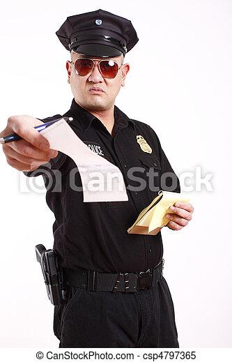 gendarme - csp4797365