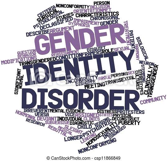 Gender identity disorder - csp11866849