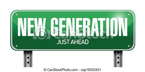 Diseño de ilustración de carteles de nueva generación - csp15033431