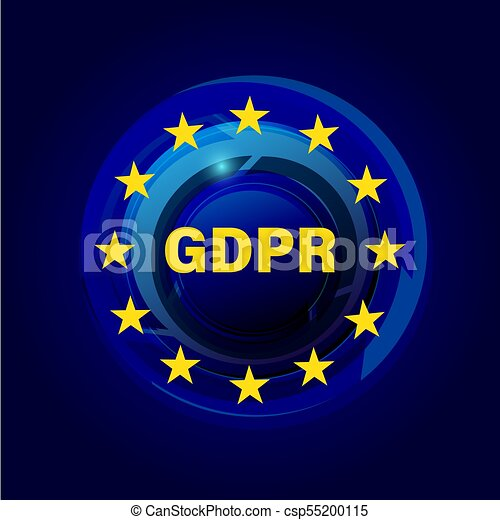 General Data Protection Regulation GDPR - csp55200115