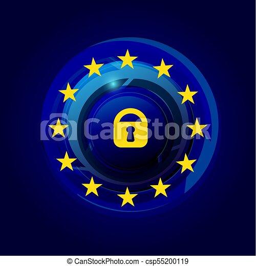 General Data Protection Regulation GDPR - csp55200119