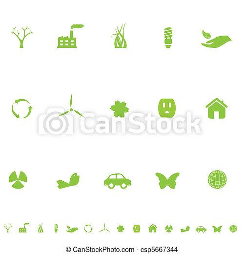 General Eco Symbols - csp5667344