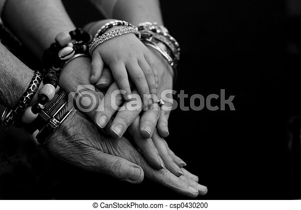 Generations of Hands - csp0430200