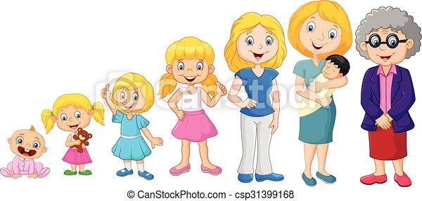 Generations woman. - csp31399168