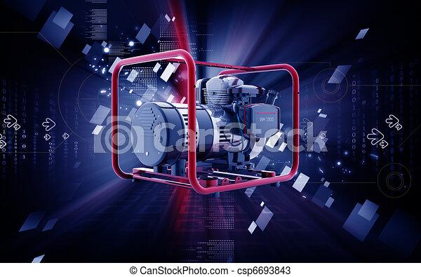 Generator  - csp6693843