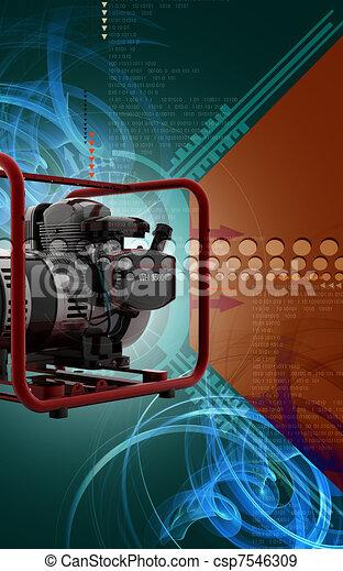 Generator  - csp7546309