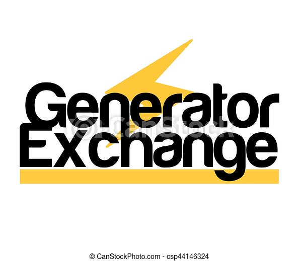Generator Exchange Logo - csp44146324