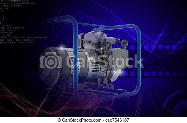 Generator  - csp7546187