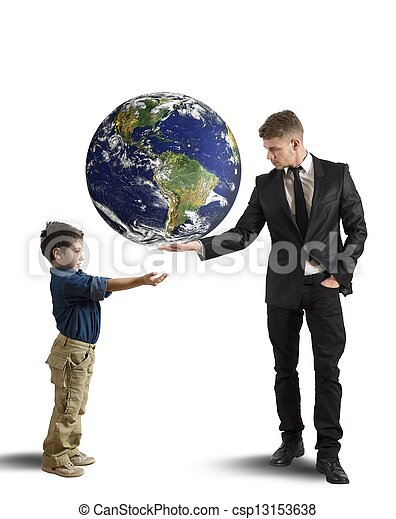 generazione, nuovo, aiuto - csp13153638