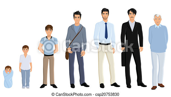 generazione, set, uomo - csp20753830