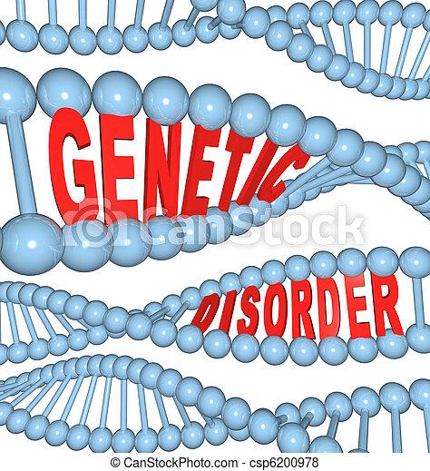 Genetic Disorder - Mutation in DNA Causes Disease - csp6200978