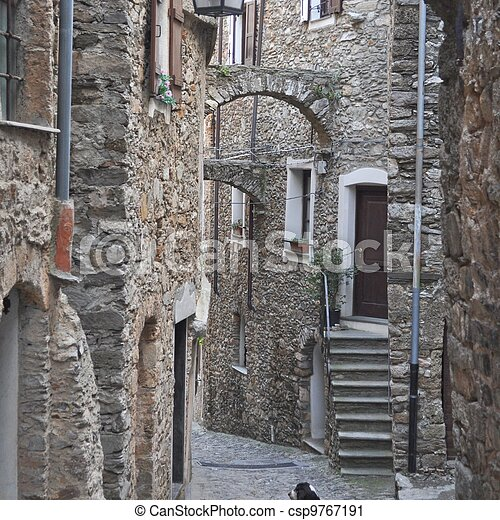 Genoa Caruggio - csp9767191
