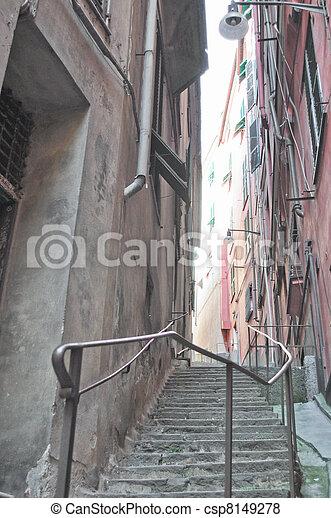Genoa Caruggio - csp8149278