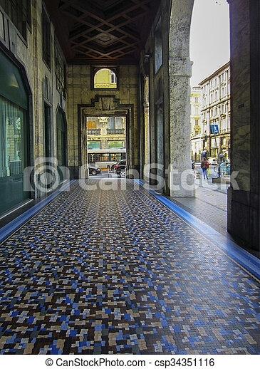 Genoa, Italy - csp34351116