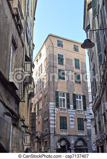 Genoa, Italy - csp7137407
