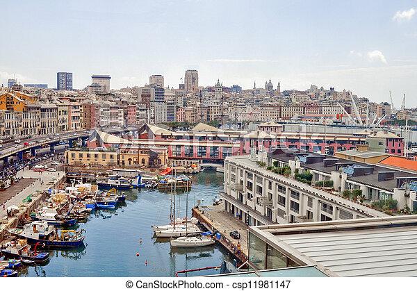 Genoa, Italy - csp11981147