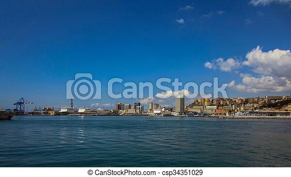 Genoa, Italy - csp34351029