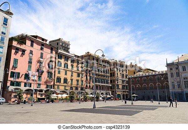Genoa Italy - csp4323139