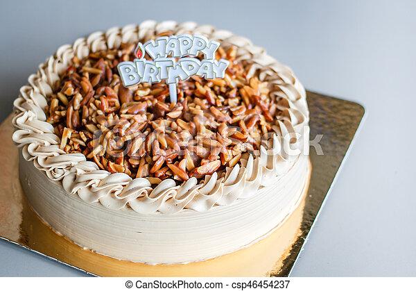 Remarkable Genoise Coffee Cake Genoise Coffee Cake Coffee Almond Cake Personalised Birthday Cards Vishlily Jamesorg
