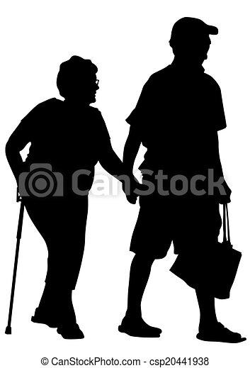 gens âgés - csp20441938