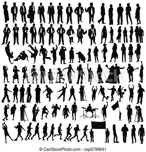 gens, (, children), business, style de vie, sport, musique - csp0799641